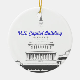 U.S. Capitol Dome, Washington D.C. Ceramic Ornament
