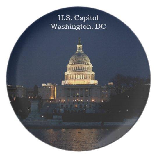 U.S. Capitol, Washington, DC Commemorative Plate