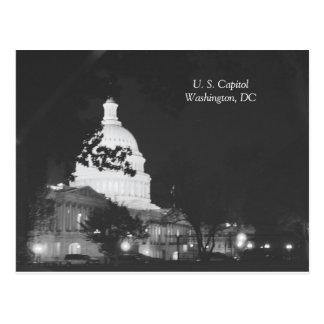 U. S. Capitol Washington, DC Postcard