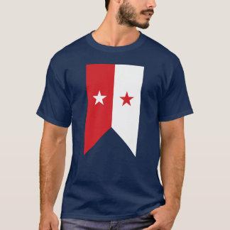 U.S. Cavalry Guidon Pennant Vertical - Sheridan T-Shirt