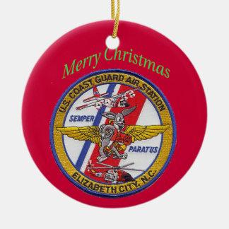 U.S. Coast Air Station Elizabeth City Ornament