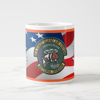 U.S. Coast Guard Air Station Astoria Large Coffee Mug