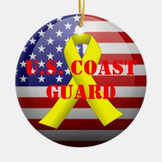 U.S. Coast Guard Ceramic Ornament