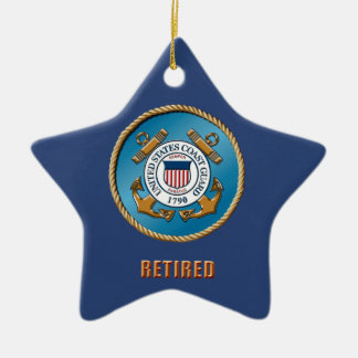 U.S. Coast Guard Oninament Ceramic Ornament