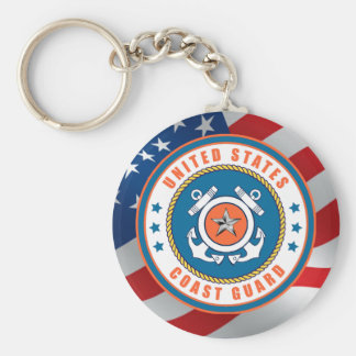 U.S. Coast Guard Rear Admiral Keychain