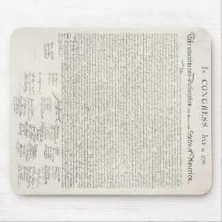 U.S. Declaration of Independence Mousepad