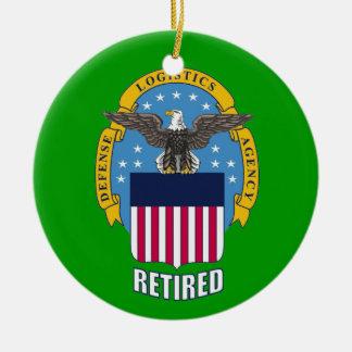 U.S. Defense Logistics Agency Retired Ceramic Ornament