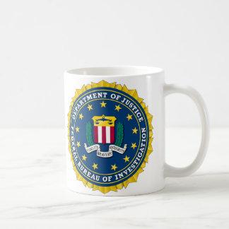 U.S. DEPARTMENT OF JUSTICE - FBI COFFEE MUG