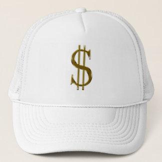 $ U.S.dollar sign gold Trucker Hat