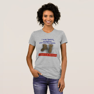U.S. female Vet T-Shirt