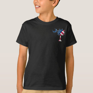 U.S. Flag Pocket Palmetto T-Shirt