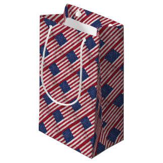 U.S. Flag Small Gift Bag