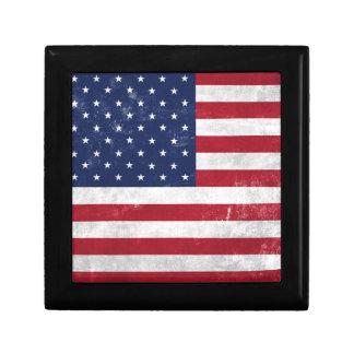 U.S. Flag Trinket Boxes
