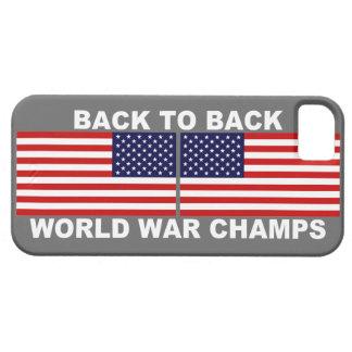 U.S. La guerre mondiale de drapeaux mâche le cas iPhone 5 Case