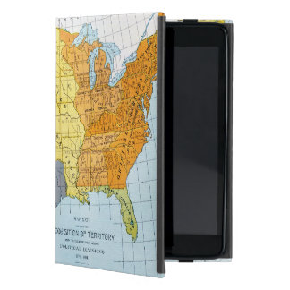 U.S. MAP, 1776-1884 CASES FOR iPad MINI