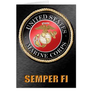 U.S. Marine Corps Semper Fi cards