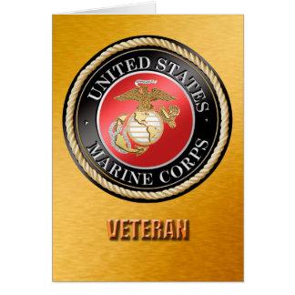U.S. Marine Corps Veteran Cards