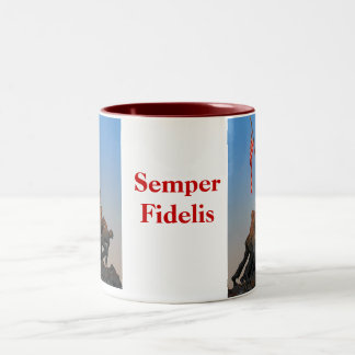 U.S. Marine Corps War Memorial Mug