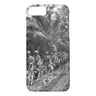 "U.S. Marine ""Raiders"" and their dogs, which_War Im iPhone 7 Case"