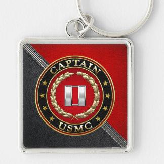 U.S. Marines: Captain (USMC Capt) [3D] Key Chains