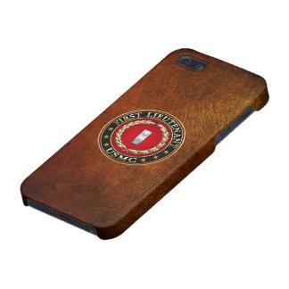 U.S. Marines: First Lieutenant (USMC 1stLt) [3D] iPhone 5 Cases