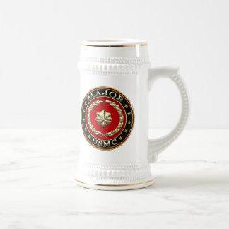 U.S. Marines: Major (USMC Maj) [3D] Beer Stein
