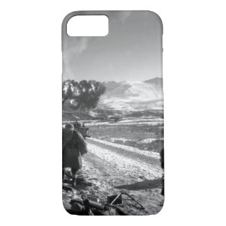 U.S. Marines move forward after_War Image iPhone 7 Case