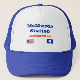 U.S. McMurdo Station Antarctica Baseball Cap