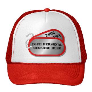 U.S. MILITARY - Dog Tags Trucker Hat
