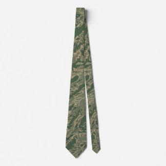 U.S. Military Green Camouflage Men's Tie