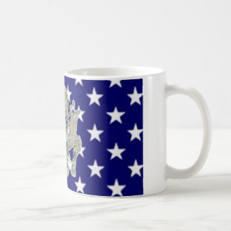 u.s. military insignia basic white mug