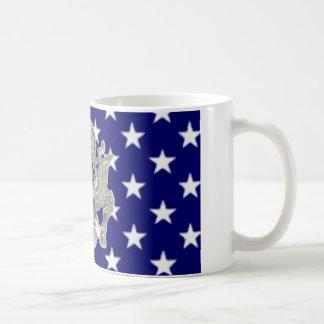 u.s. military insignia classic white coffee mug