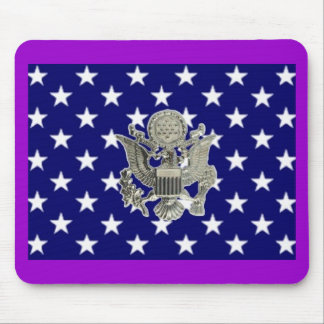 u.s. military insignia mouse mat