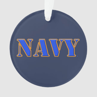 U.S. Navy Acrylic Ornament