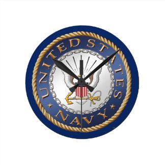 U.S. Navy Acrylic Wall Clock