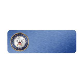 U.S. Navy Address Label