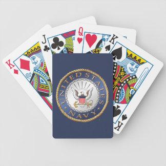 U.S. Navy Bicycle® Poker Playing Cards