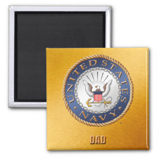 U.S. Navy Dad Magnet