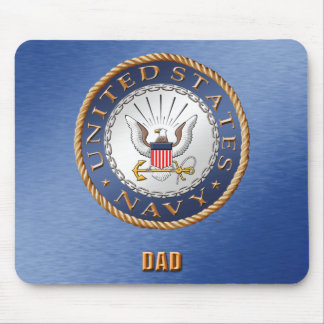 U.S. Navy Dad Mousepad