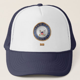 U.S. Navy Dad Trucker Hat