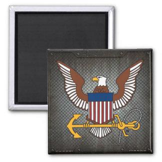 U.S. Navy | Eagle Emblem Square Magnet