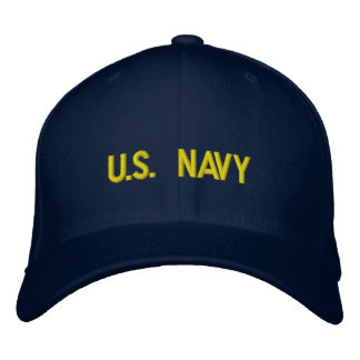 U.S. NAVY Embroidered Hat