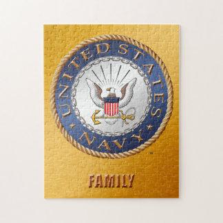 U.S. Navy Family Puzzle