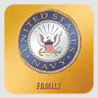 U.S. Navy Family Sticker