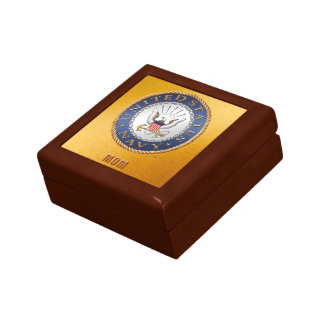 U.S. Navy Mom Jewelry Keepsake Box