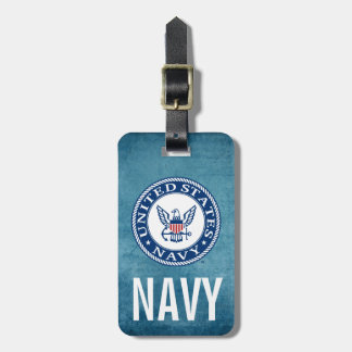 U.S. Navy | Navy Alt Emblem Luggage Tag
