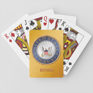 U.S. Navy Retired Classic Playing Cards