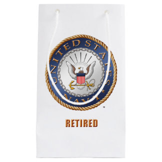 U.S. Navy Retired Gift Bag