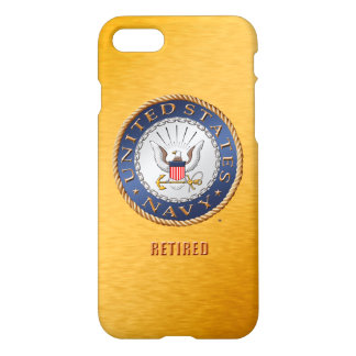 U.S. Navy Retired iPhone 7 iPhone 8/7 Case