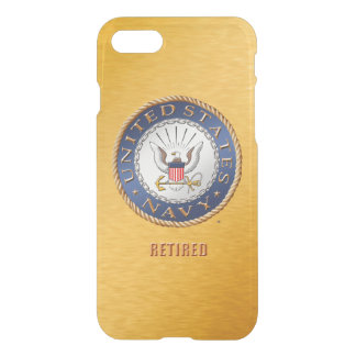 U.S. Navy Retired iPhone Case